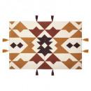 hacienda printed side rug 60x90, 2- times assorted