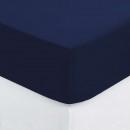 drap housse b30 2p encr140x190, bleu encre