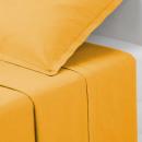 sábana encimera 1p ocre 180x290, amarillo ocre