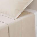 sábana encimera 2p lino 240x290, lino beige