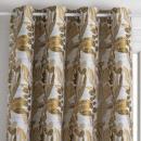 jacq bejuco oc függöny 140x260, okker sárga