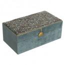 rectangle jewelry box velvet edi, 2- times assorte