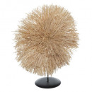 raffia decoratief object haci h36, middenbeige