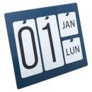 calendario de metal gm hotel, 2- veces surtido , c