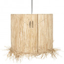 suspension raphia haci naturel d36, beige