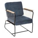 chen ege anzio fotel, kék