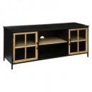 baris 2p tv-meubel, zwart