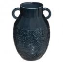 jarrón de ceramica plato haci h25, 2- veces surtid