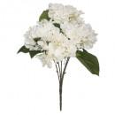 bouquet hortensia assiette h42, 3-fois assorti, co