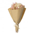 grossiste Décoration: bouquet compo naturel folk h50, 3-fois assorti, co
