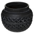 groothandel Tuin & Doe het zelf: pot nr cuba d25 h21, zwart