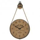 reloj mdf / metal pouli d40 cuba, multicolor