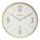 reloj plast gold d35.5 cleo, dorado