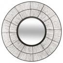alambre de metal espejo d76 andreane, negro