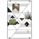 portafotos de metal 35x55 elora, negro