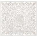 Großhandel Dekoration: mdf wanddekoration 115x115 fanny, weiß