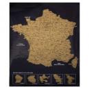 Tarjeta rasca Francia 54x70, multicolor