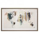 marco mundo de cristal 80x50, multicolor