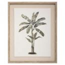 lienzo impreso / cad / foil tree 40x50, doble como