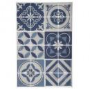 groothandel Wandtattoos: sticker caro 20x30 glitter x2, blauw