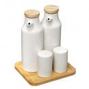 wholesale Household & Kitchen: oil / vinegar set + ceramic dish