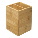 2comp bamboe gebruiksvoorwerp pot