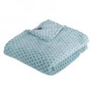 manta de flan con estampado otto bl125x150, azul p