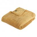 manta de flan con estampado otto oc125x150, amaril