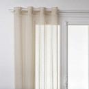 vitrage essia linnen 140x240, linnen beige