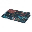 hoja nyomtatott ágytakaró 240x260 + 2t, kacskék