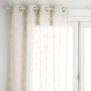 groothandel Vitrage & Gordijnen: doorschijnend tony linnen 140x240, linnen beige