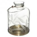 farol de cristal cincelado wonder h17, transparent