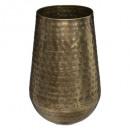 oase metalen vaas h23, goud