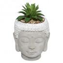 mesterséges buddha növény cim h13,5, 3- szer szort