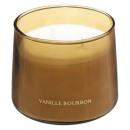 Vela perfumada de vidrio vainilla bili 300g, marró