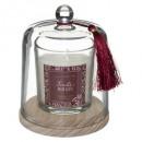 vela perfumada cl fr rou loli 130g, rojo granate