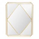 spiegel metalen suite 54x68, goud