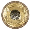 metalen wanddecoratie nam d67, goud