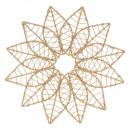 decoración de pared de metal / papel de estrella d