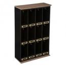 houten sleutelhangerpakket 33x53, zwart