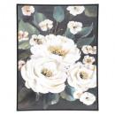 lienzo pei / cad / foil flower 58x78, multicolor