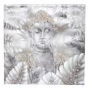 vászonkép Buddha 78x78, szürke