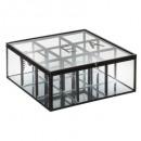 the metal box mind glass x9, transparant