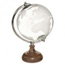 globo mango vidrio d20, transparente