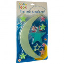 phosphorescent stars, 3- times assorted