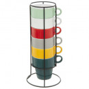 mug sur rack x6 colorama