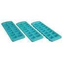 polypropylene trays x3, 3- times assorted , co