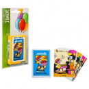 set of 7 families blister, 7- times assorted , mul