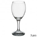 glass wine x3 imperial g4y 20cl, transparent