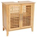 furniture under sink bamboo, beige